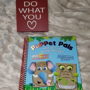 Puppet Pals Craft Book🆕️